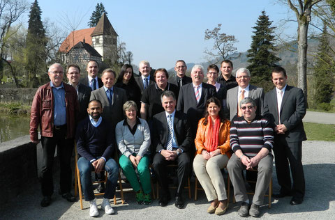Gruppenbild CDU/FWV Wahlkampfteam 2014