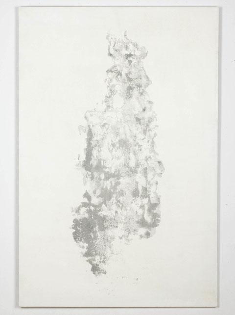 """""""Wohnzimmerikone"""", silkscreen on wood, 80x120, 2011"""