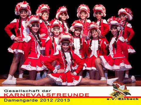 Damengarde 2012 / 2013