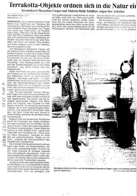 Wümme-Zeitung 19.05.2007