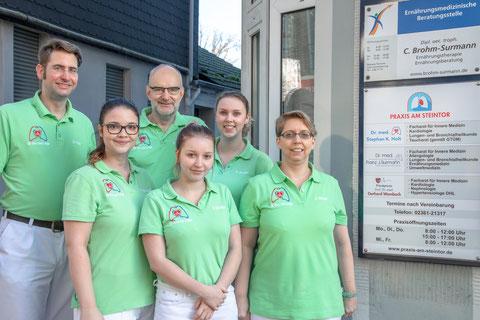 Dr.Stephan Holt, Dr. Surmann, Nina Schukat, Sandra Schiller, Nadine Norden,  Jana Görmer