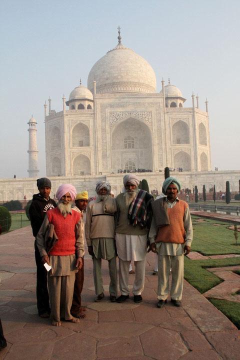 mit indischen Männern