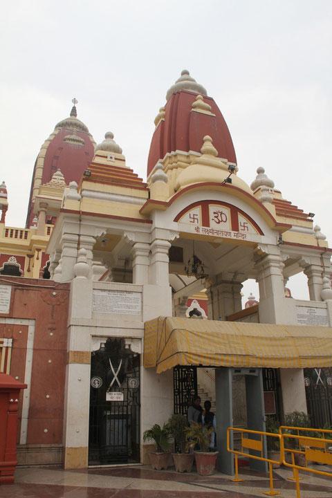 Mahamta Ghandi eröffnetet diesen Tempel