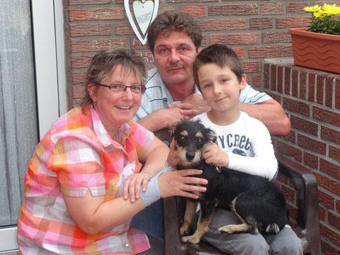 Romi fand ihre Familie in Bergen.
