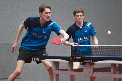 Florian Fechtler und Pascal Polak gewannen beide Doppel (Foto: Laame)