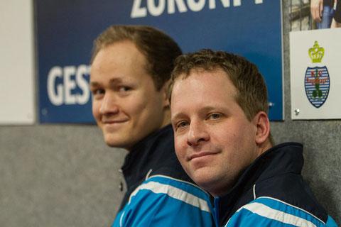 Matthias und Andreas Wibbe spielen am Samstag beim Meisterschaftsfavoriten (Foto: Laame)