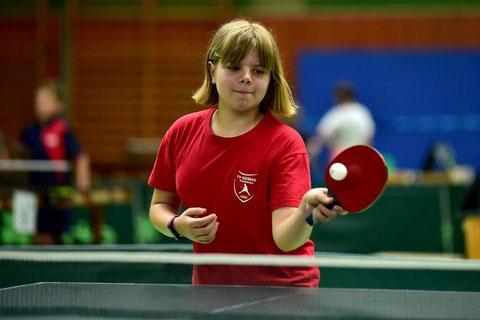 Julia Dickhage wurde am Ende Neunte beim Verbandsfinale