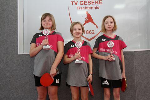 Julia Dickhage, Frieda Strugholz und Lisa Karbstein v.l.n.r. (Foto: Laame)