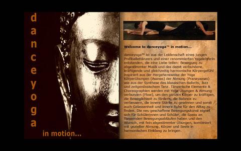 danceyoga™ l Booklet   > online Präsentation auf Bild clicken