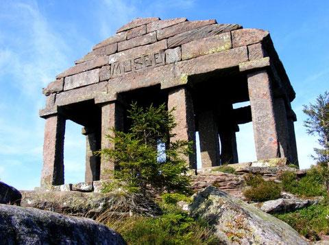 Reproduction du temple de Mercure datant du XIXème siècle