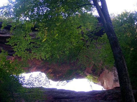 Grande arche versant nord