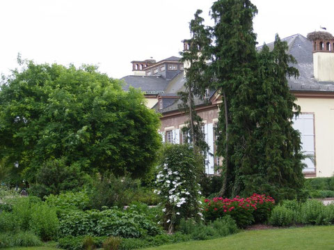 Palais de Joséphine dans le parc de  l'Orangerie