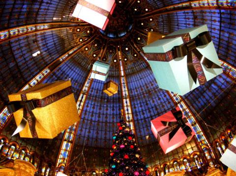 Coupole des Galeries Lafayette (avant Noël)