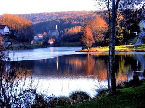 Grand étang de Mouterhouse