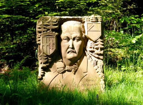Emile ERCKMANN (1822-1899) originaire de Phalsbourg