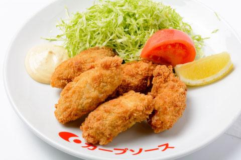 瀬戸内カキフライ定食(平日限定)…¥1,000