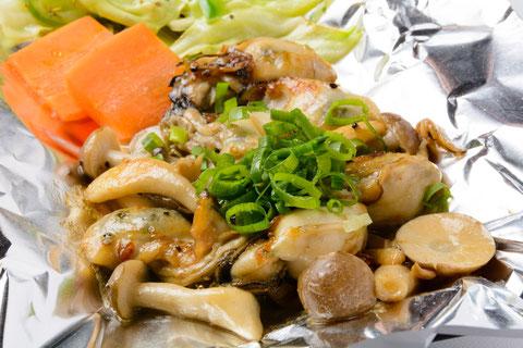 牡蠣バター焼き…¥950