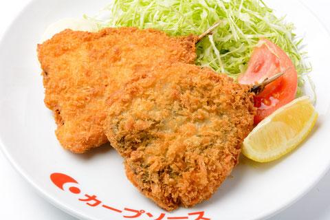 アジフライ定食(平日限定)…¥850