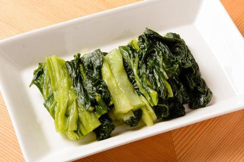 広島菜の漬物…¥400