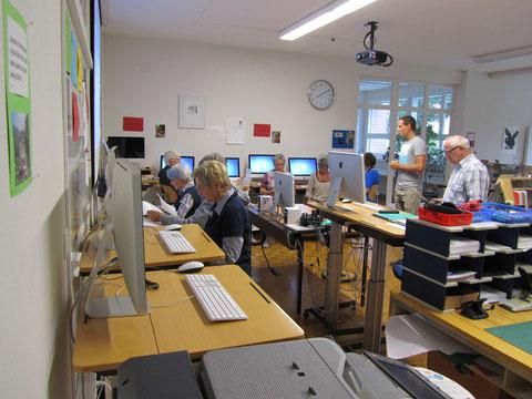 Unterricht der Computeria-Mittelthurgau