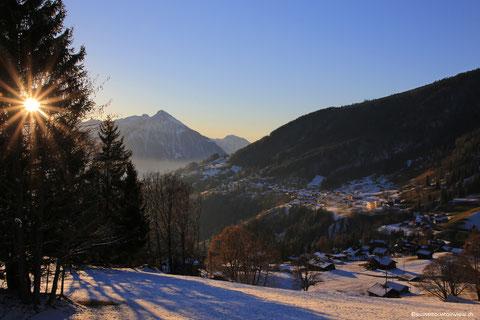09.01.2017 Endlich Winter - Waldegg und Niederhorn im Schnee