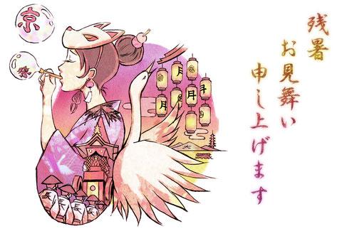 京都の祇園祭は女子禁制。ちょっと切ない思いを込めて