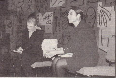 La obra 'La doble historia', escenificada en 1999. (Foto: Archivo Diario de Noticias)