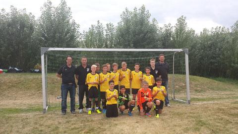 Sieger 1.SC Göttingen 05 D-Jugend
