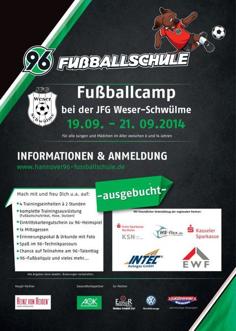 Plakat Fussballschule