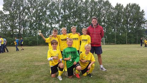Sieger RSV Göttingen 05 E-Jugend