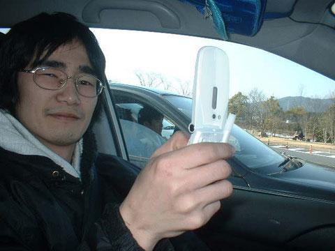 車内にて(2007)