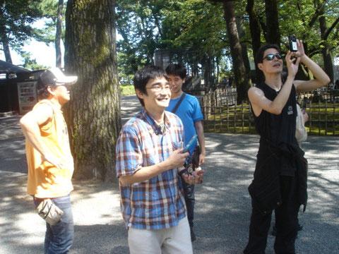 小田原城にて(2011)