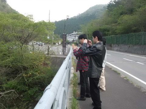 会津東山温泉にて(2013)
