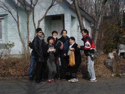 貸し別荘にて(2008)