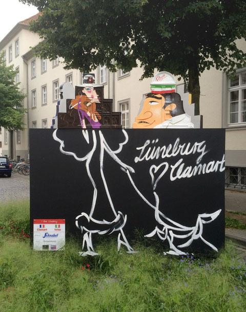 Hier wird Clamart, Lüneburgs Partnerstadt in Frankreich, gefeatured.