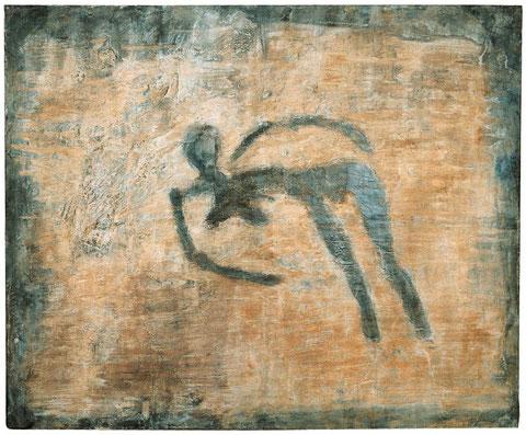 Die Ahnung, 1994, Bronzerelief, Unikat, 208 x 254 cm