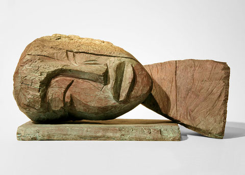 Kopf 203, 2007, Bronze, 9 Ex., 24,5 x 49,2 x 25 cm