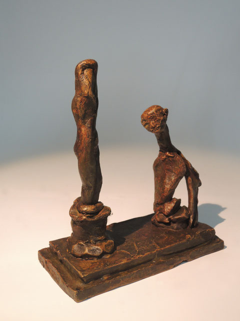 Figur 400, Bronze, 2018, Höhe 14cm, 9 Exemplare