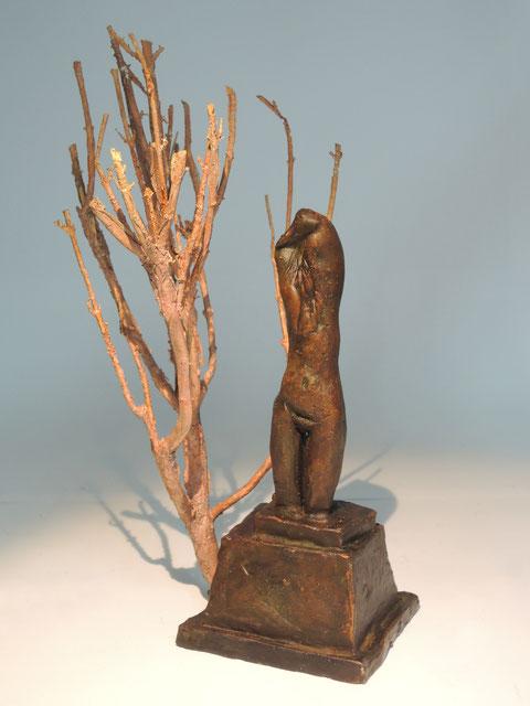 Figur 401, Bronze, 2018, Höhe 21cm, Unikat