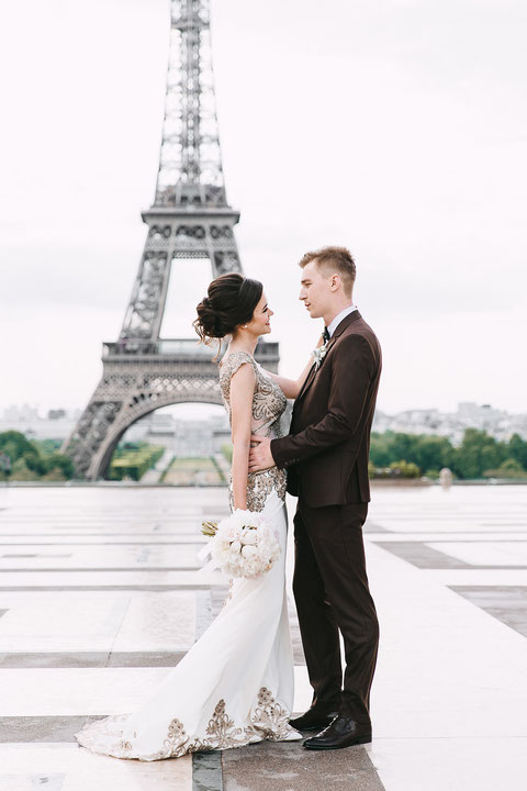 свадебная фотосессия в Париже