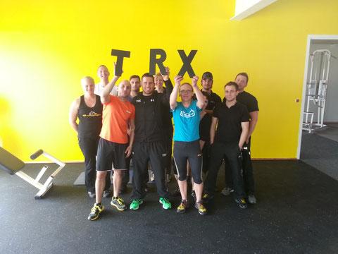 Ausgebildete TRX Trainer im GYM Fürth