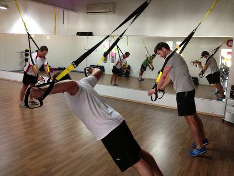 Gruppenkurs TRX Gym fuerth fitnessstudio