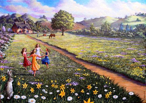 C'est le printemps : alors, on danse ! ( blog Clair de lune)
