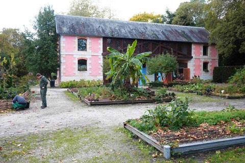 La Maison du jardinier et le jardin partagé (photo de D. Sherwin-White)