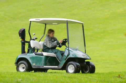 La golfette: objet de leurs efforts (photo D.R.)