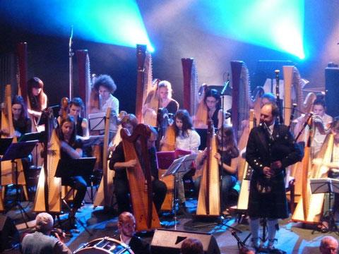 Concert de musique celtique à Villenave d'Ornon (I. Denis)