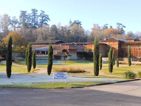 Station thermale de Barbotan dans le Gers (I. Denis)