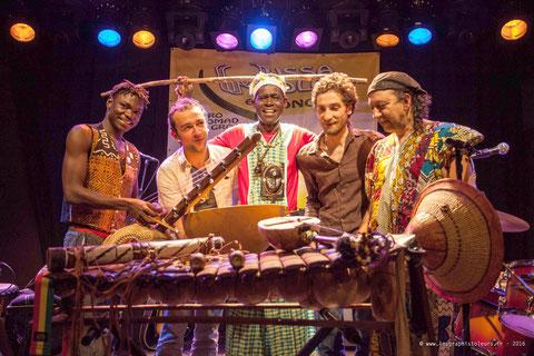 Le groupe Mussa Molo en concert chez Alriq à Bordeaux (Musso Molo)