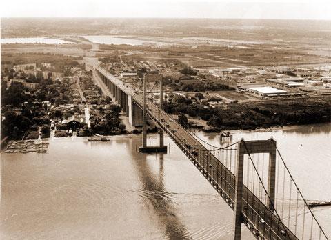 1975 : le pont d'Aquitaine et les travaux de la rocade (Mémoire de Bordeaux)
