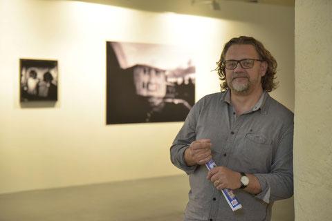 Vincent Bengold, un des fondateurs avec la galériste Nathalie Lamire-Fabre (D. Sherwin-White)